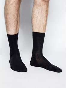 Set patru perechi de șosete negre ONLY & SONS Niko