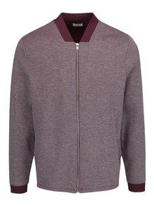 Jachetă violet melanj Burton Menswear London