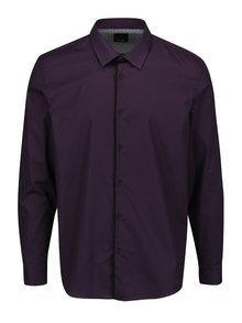 Cămașă violet închis Burton Menswear London