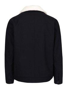 Jacheta bleumarin din amestec de lana Burton Menswear London