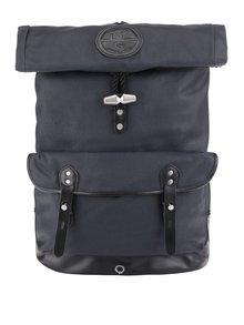 Tmavě modrý batoh s rolovací klopou Stighlorgan Reilly