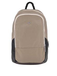Béžový batoh na zips Stighlorgan Dara