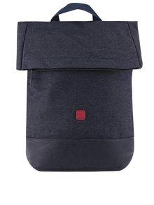 Tmavě modrý žíhaný voděodolný unisex batoh Ucon Kato Waterproof 20 l