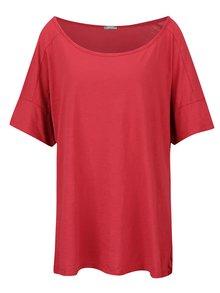 Červené dámske oversize tričko s krátkym rukávom ZOOT