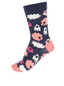 Șosete albastre Happy Socks Iris Apfel Lamb