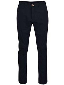 Tmavě modré chino kalhoty Blend