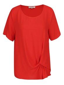 Bluza rosie cu detaliu decorativ Selected Femme Boya