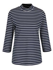 Tmavě modré pruhované tričko s 3/4 rukávem VERO MODA Sailor