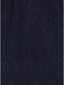 Tmavomodrý rifľový top Miss Selfridge