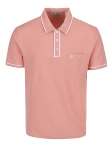 Růžové slim fit polo tričko Original Penguin Earl