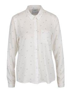 Krémová volná vzorovaná košile VERO MODA Vissa