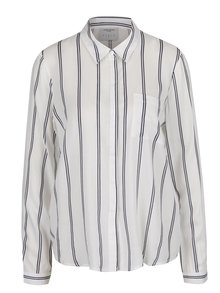 c5f196132bf Krémová košile s vzorovanou kapsou VERO MODA Dina