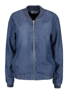 Jachetă bomber albastră ONLY Teresa din denim