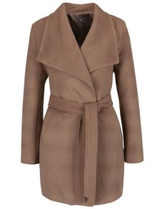 Palton maro ZOOT cu revere ample