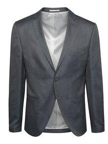 Šedé oblekové sako Selected Homme Done-Louame