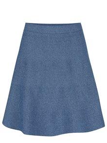 Modrá sukňa s jemným vzorom VILA Olympa