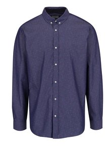 Tmavě modrá košile Selected Homme Nematteo Circle