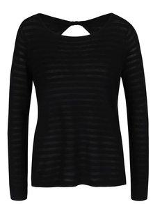 Bluză neagră în dungi ONLY Hannah