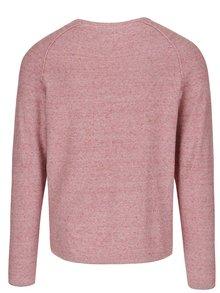 Červený melírovaný sveter Jack & Jones Trevor