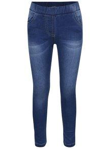 Tmavě modré holčičí elastické džíny 5.10.15.