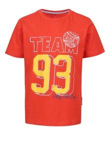 Tricou de băieți 5.10.15. roșu cu print