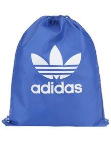 Modrý unisex vak s logom adidas Originals Trefoil
