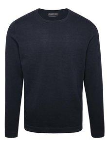 Tmavomodrý ľahký sveter Jack & Jones Basic