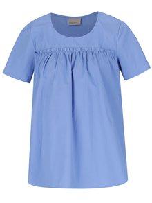 Modrá blúzka s krátkym rukávom VERO MODA Mimi