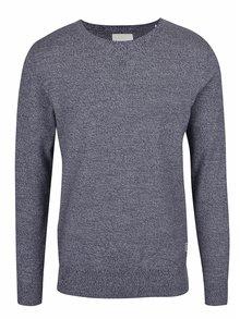 Modro-biely žíhaný sveter Shine Original
