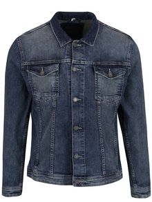 Jachetă albastră Shine Original din denim