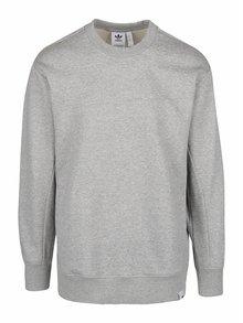 Bluză gri deschis adidas Originals X din bumbac