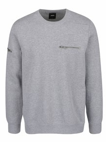 Bluză gri melanj Burton Menswear London
