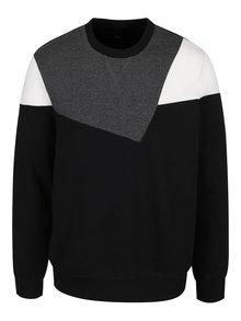 Šedo-černá mikina Burton Menswear London