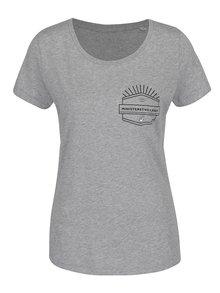 Sivé dámske tričko ZOOT Originál Ministerstvo lásky