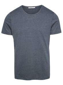 Tricou basic albastru deschis Jack & Jones Hugo