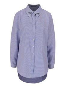 Modrá dlouhá košile Haily's Lina