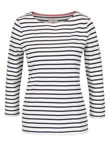 Modro-krémové dámské pruhované tričko Tom Joule Harbour