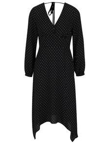 Rochie neagră cu buline MIss Selfridge