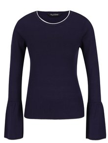 Tmavomodrý ľahký sveter Miss Selfridge