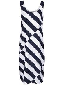 Bielo-modré pruhované šaty Nautica
