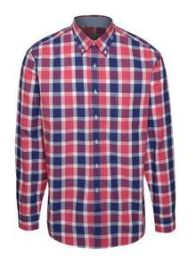 Ružovo-modrá kockovaná košeľa Seven Seas Rome