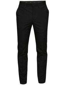 Pantaloni chino negri Jack & Jones Corban