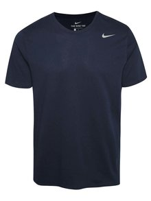Tmavomodré pánske funkčné tričko Nike