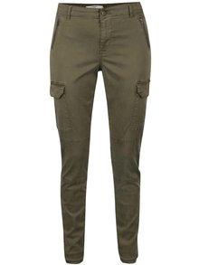 Khaki kalhoty s kapsami VERO MODA Seven