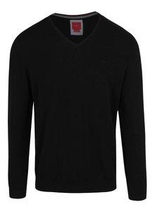 Černý pánský lehký svetr s.Oliver