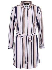 Rochie cămașă multicoloră AX Paris cu model în dungi