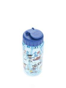 Modrá chlapčenská fľaša na pitie Tyrrell Katz Pirates
