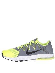 Pantofi sport verde cu gri Nike Zoom Train Complete