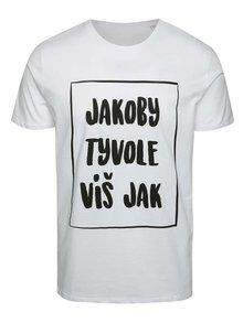 Bílé pánské triko ZOOT Originál Jakoby tyvole víšjak