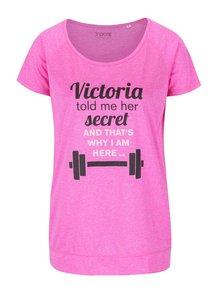 Ružové dámske tričko ZOOT Originál Victoria Secret